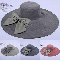 Hats For Women Summer Beach Wide Brim Ladies Sun Hat Caps Ou