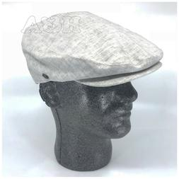 Epoch hats Men's Linen Flat Ivy Gatsby Summer Newsboy Hollyw
