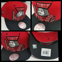 hats snapback mitchell and ness chicago bulls