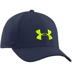 Under Armour Headline Stretch Fit Cap, Academy/Neo Pulse , M
