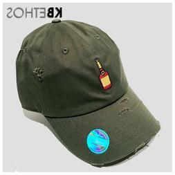 Henny Bottle Vintage Dad Hat, Cap - Unconstructed - Kbethos