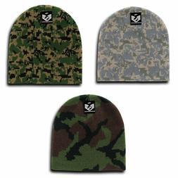 RapDom Cap Watch Hat GI Knit Beanie Military Camouflage