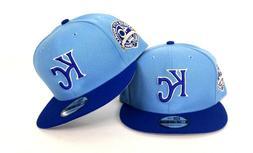 New Era Kansas City Royals Sky Blue 9Fifty Snapback Hat KC