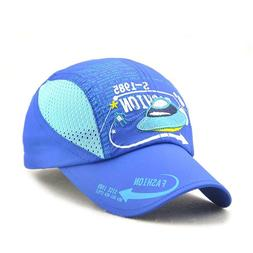 Kids Boy Lightweight Summer Quick Drying Sun Hat Airy Mesh S