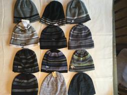 Adidas Knit Beanie Men One Size New Tags White Gray Black Bl