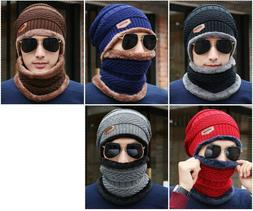 Knit Mens Winter Hats Caps Beanies  Skullies Bonnet For Men
