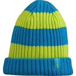 Outdoor Research Knotty Beanie - Kids' Hydro/Lemongrass, One