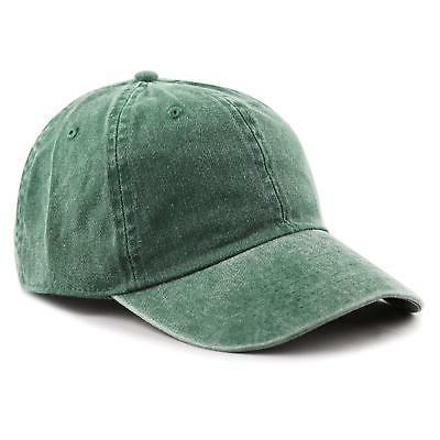 dea5fea02dfa1a THE HAT DEPOT 100% Cotton Pigment Dyed Low Profile Six Panel