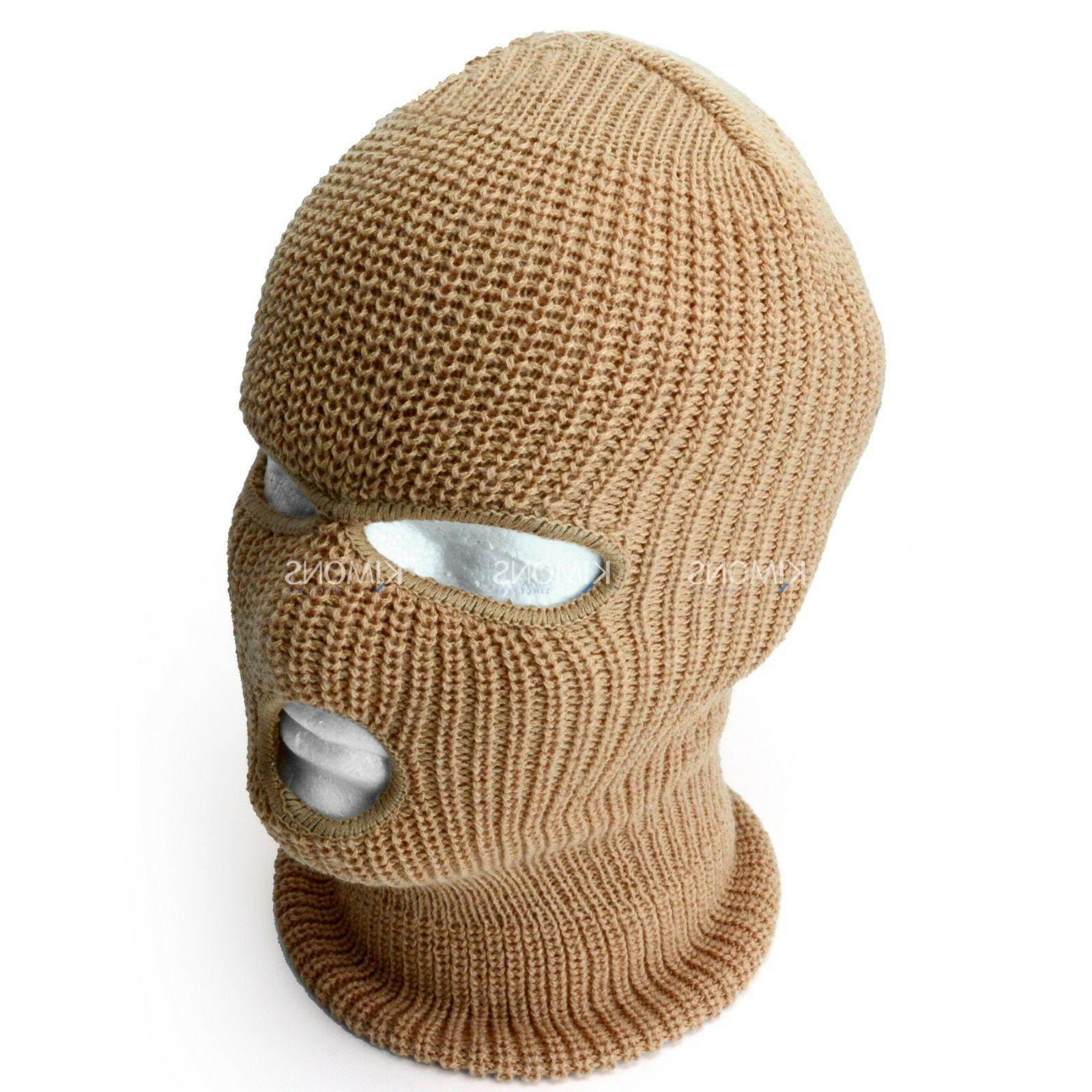 3 Hole Mask Tactical Hat