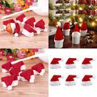 30Pcs Mini Santa Claus Hat Christmas Party Xmas Decor Holida