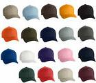 50 Classic Flexfit Blank Baseball Cap6277 Hat Wholesale Bulk