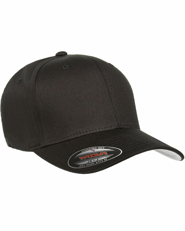 Flexfit Men's Fitted Cap, Flex Fit, Twill Hat, plain, 5001