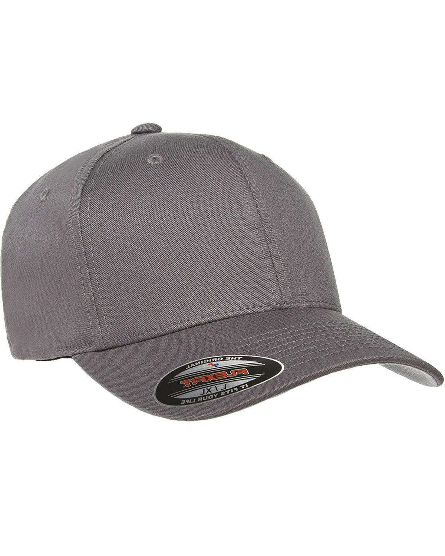 Flexfit Men's Baseball Fitted Twill Hat, NEW plain, 5001