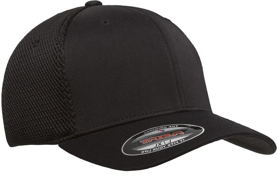 6533 t baseball cap fitted air mesh