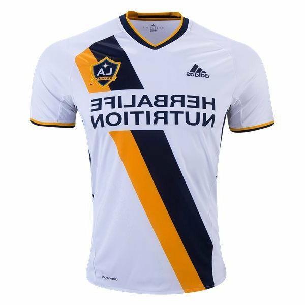 Adidas  (7417A0  MLS LA Galaxy 2016 Home Soccer Jersey-    W