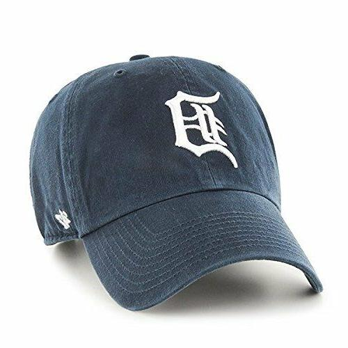 Detroit Tigers 47 Brand Clean Up Adjustable Field Classic Na