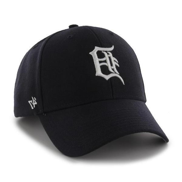 Detroit Tigers 47 Brand MVP Clean Strap Adjustable On Field