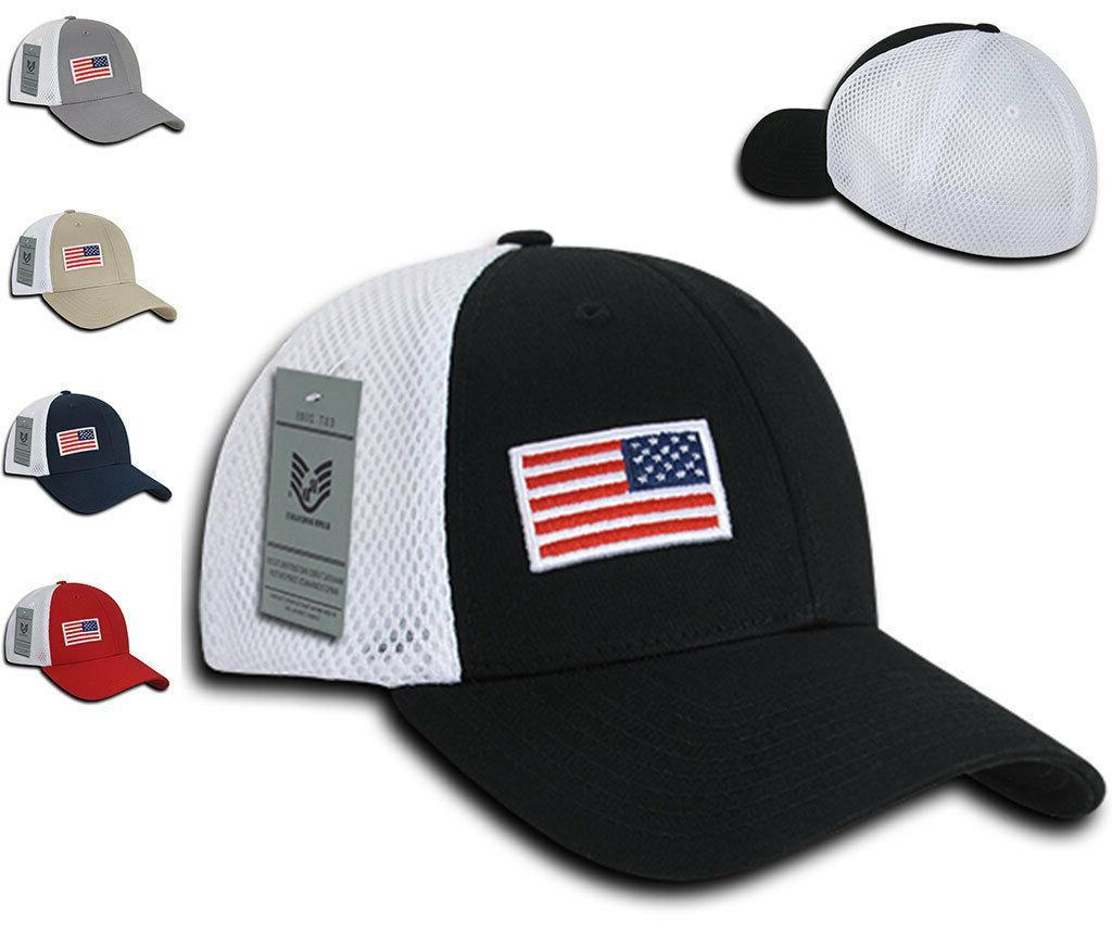 Rapid Dominance Aero Foam Flex USA Flag Military Mesh Baseba