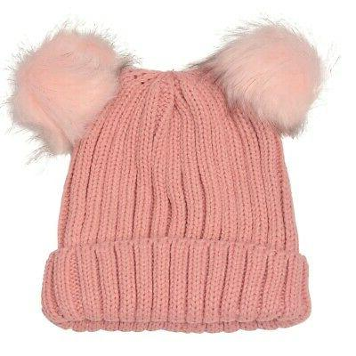 angela and william juniors pink faux fur