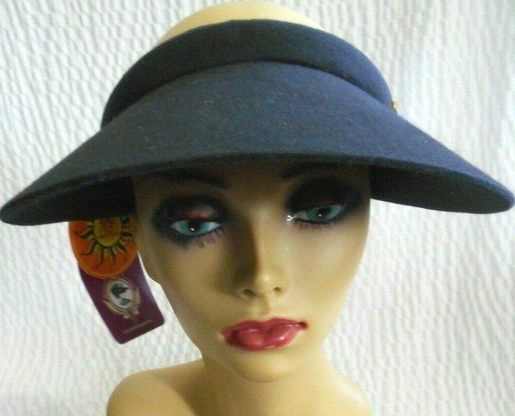 angela and william sun visor hat nwt