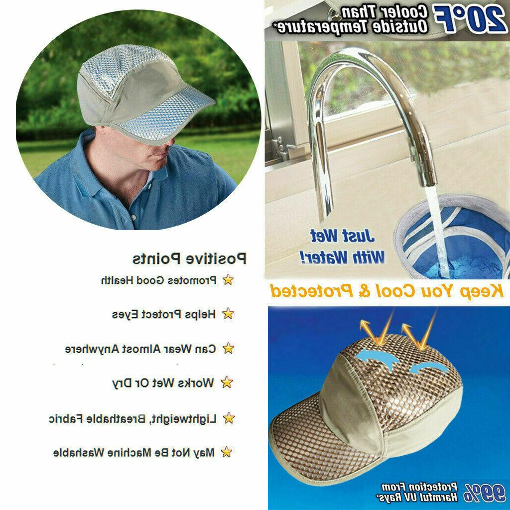 Anti-UV Sunstroke-Prevented Cooling Hat - 80%OFFFree shippin