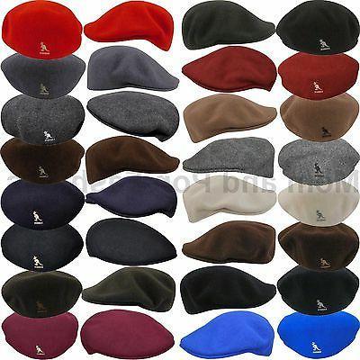 Authentic Kangol 100% WOOL 504 Ivy Cap Hat 0258BC S M L XL X