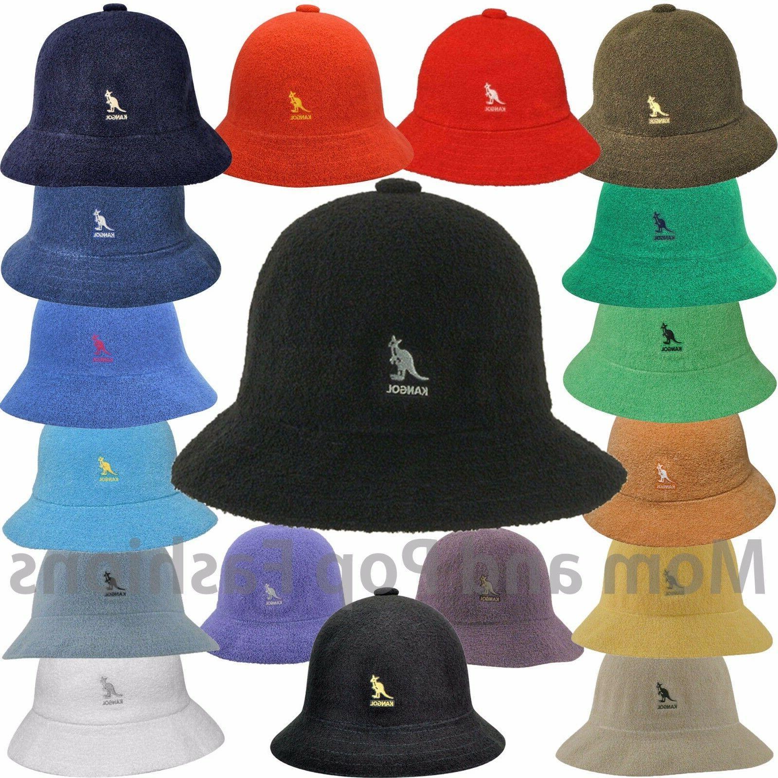 Authentic Kangol Bermuda Casual Bucket Hat Cap 0397BC S M L