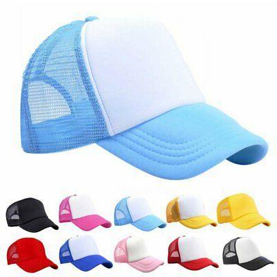 Toddler Baby Boy Girl Summer Hat Baseball Hat Cap Snapback Caps