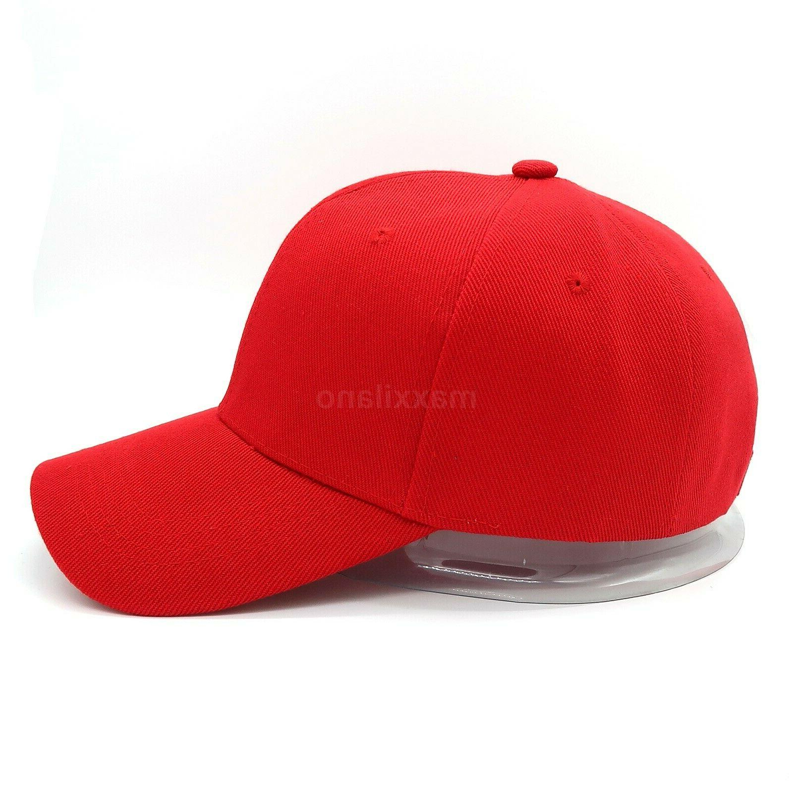 Plain Adjustable Solid Blank Hat Polo Visor