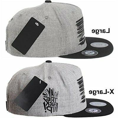 WITHMOONS Baseball and American Hat KR2305 Grey,