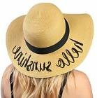 Beach Women Hat Funky Junque Embroidered Sun Hats - Hello Su