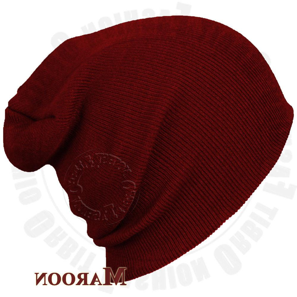 Beanie Winter Cap Slouchy Skull Men Women