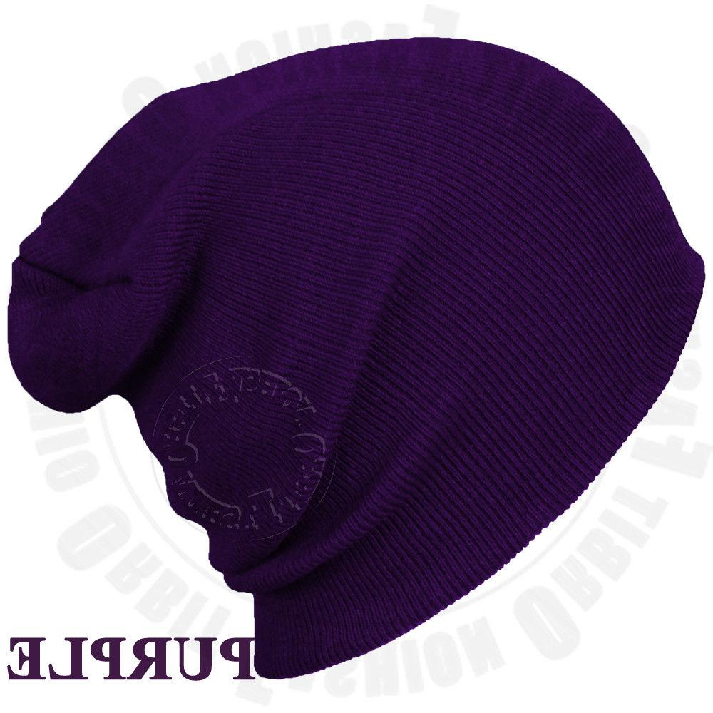 Beanie Winter Warm Slouchy Ski Men Women