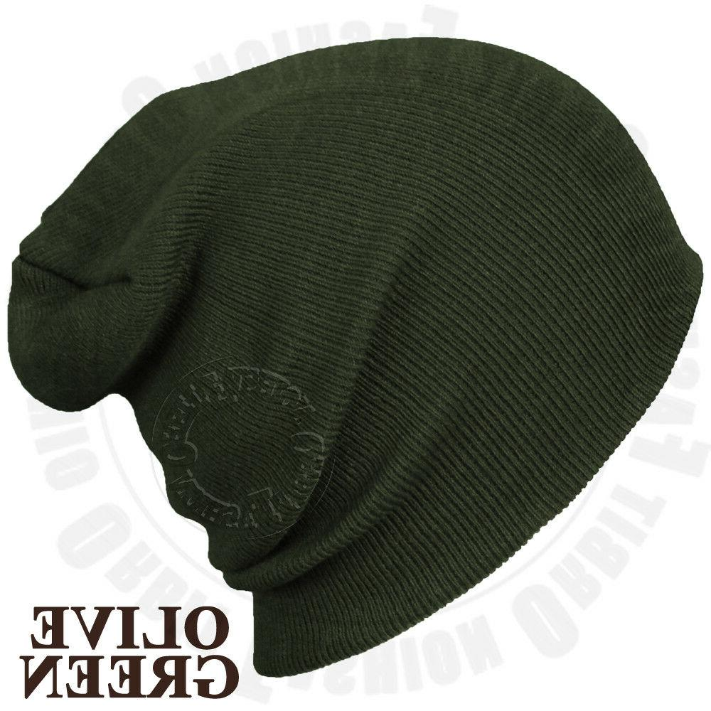 Beanie Winter Warm Cuff Slouchy Skull Ski Men
