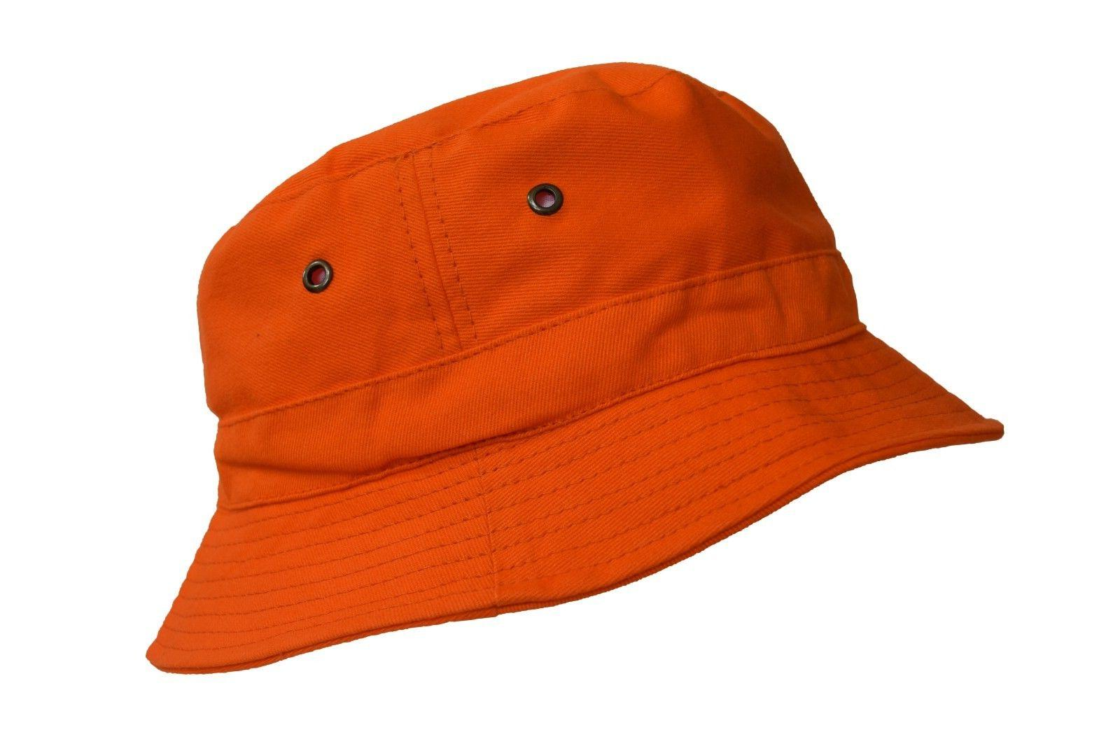 Bucket Hat 2 INCH Boonie Cap Cotton Fishing Hunting Safari S