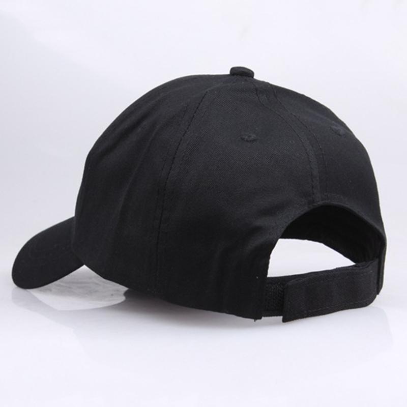 Casual <font><b>hats</b></font> <font><b>Adjustable</b></font> Summer Again 2020 Solid Snapback Cap BLACK