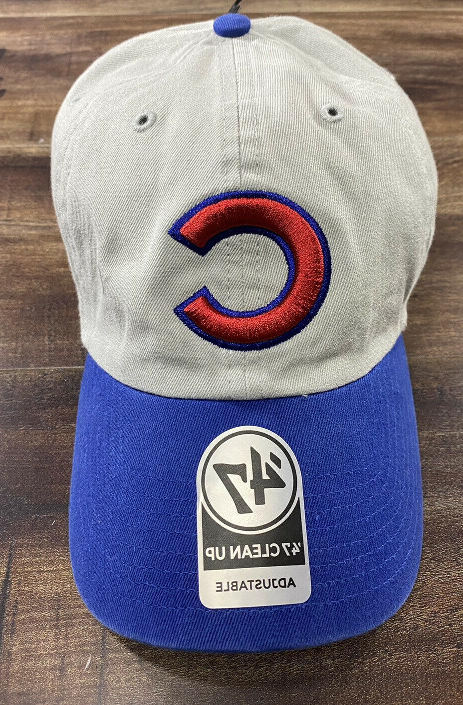 Chicago Cubs Cap Clean Up Strapback pick