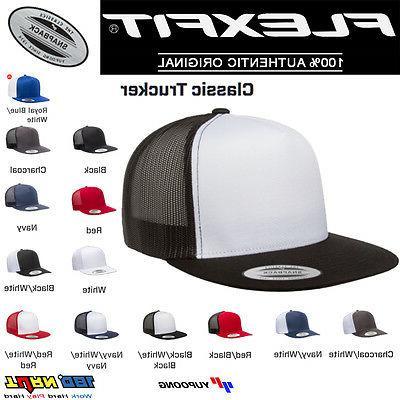 classic trucker mesh snapback hat blank cap