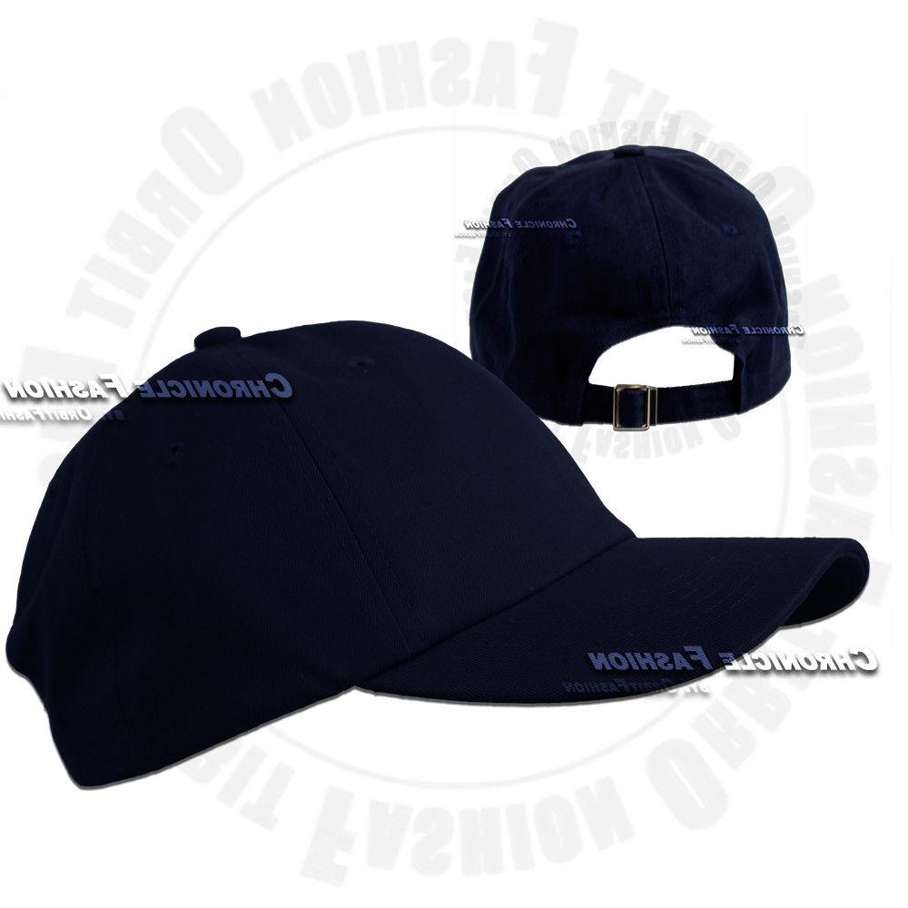 Baseball Hat Polo Style Adjustable Solid Hats