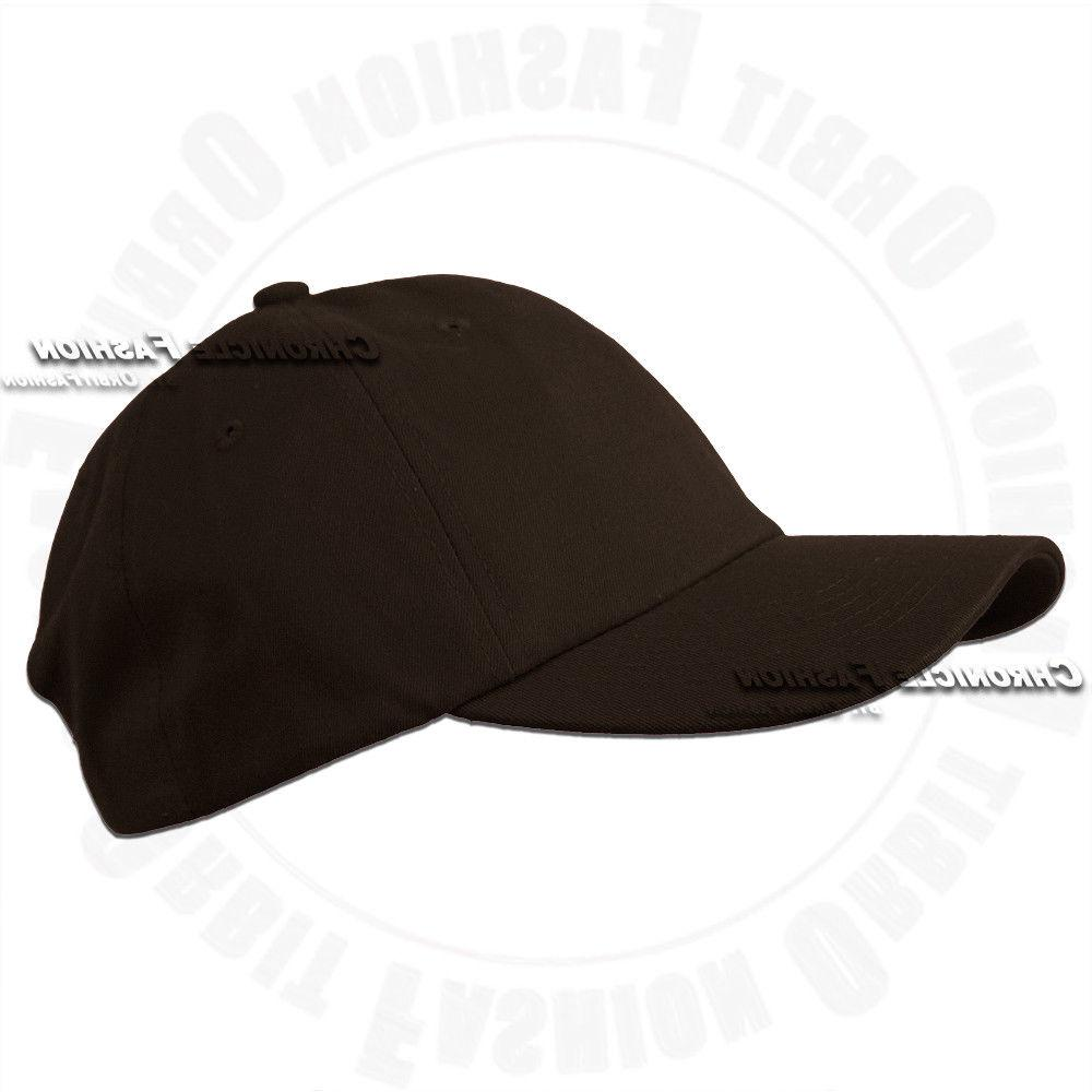 Baseball Cap Washed Hat Solid Men Hats