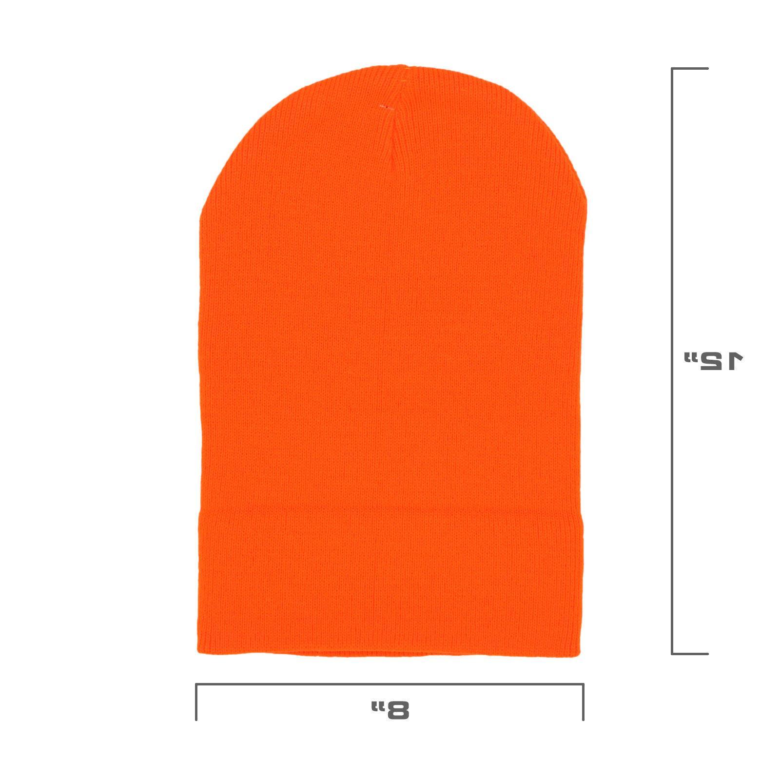 Mororock Cuff Hat Men Knit Ski