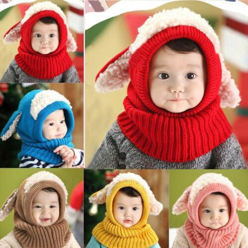 Boys Winter Beanie Hooded