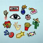 Cute Embroidered Iron On/Sew On Patches Set Badge Bag Hat Cl