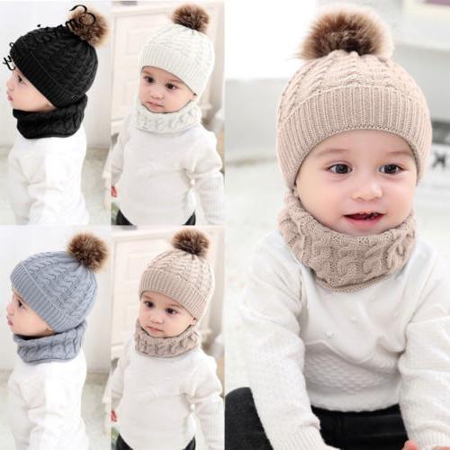 Cute Toddler Kids Girl&Boy Baby Infant Crochet Knit Cap