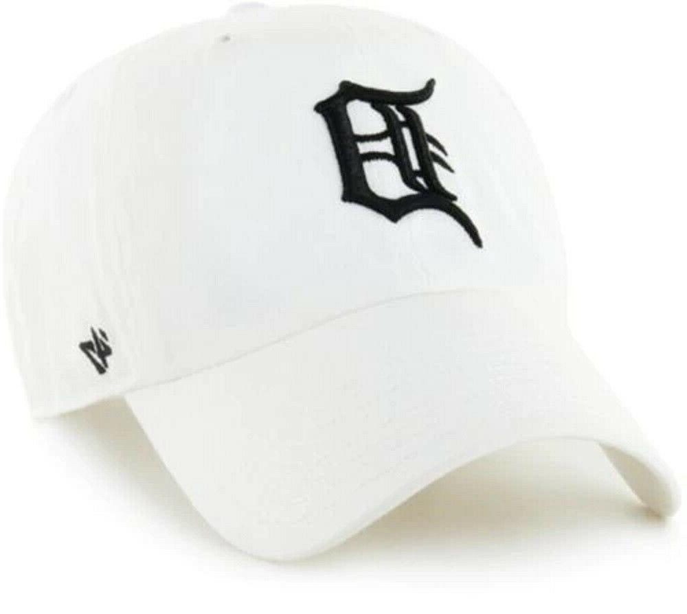 detroit tigers white clean up adjustable field