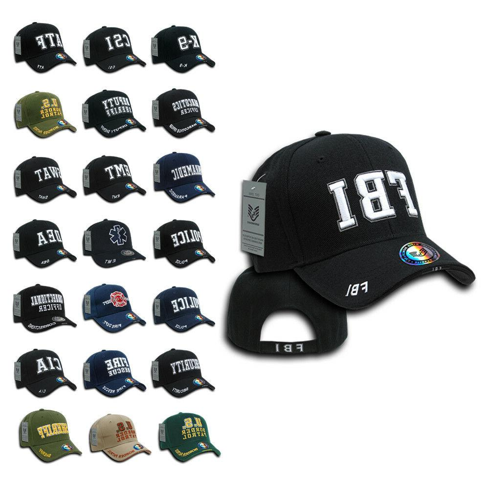 Rapid Dominance Embroidered Law Enforcement USA Baseball Cap