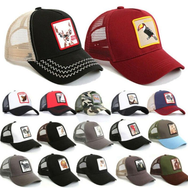 Embroidery Mesh <font><b>Baseball</b></font> Snapback Summer Unisex <font><b>Adjustable</b></font> <font><b>Baseball</b></font> Cap