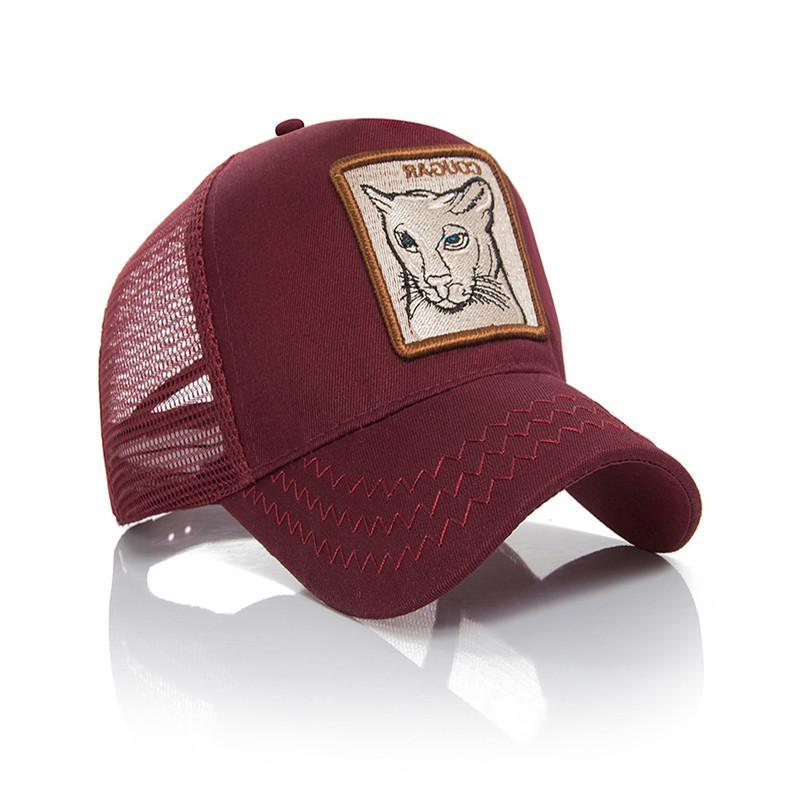 Embroidery Mesh Animal <font><b>Baseball</b></font> Snapback Hip Hop Summer <font><b>Adjustable</b></font> Cap