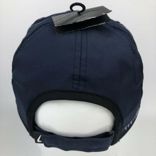 NIKE Featherlight Hat Cap Dri-Fit Navy Blue