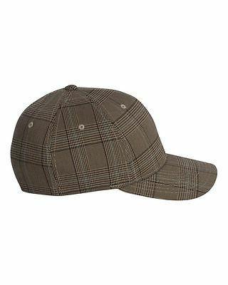 FLEXFIT Structured CHECK Golf Hat L/XL Baseball Cap 6196